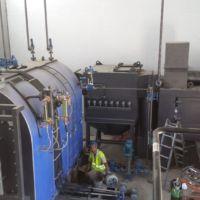 Caldera Vapor - Sistema de recirculación del aire