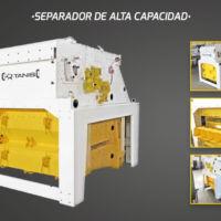 Agrotec - Limpieza y selección de seimllas - Separador de alta capacidad