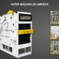 Agrotec - Limpieza y selección de seimllas - Vibro separador - Super máquina de limpieza