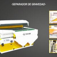Agrotec - Limpieza y selección de seimllas - Vibro separador - Separador de gravedad