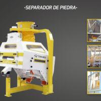 Agrotec - Limpieza y selección de seimllas - Vibro separador - Separador de piedra