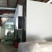 Secadero de bandas - Agrotec Maqunaria.Sirve para cualquier producto que exija un tratamiento cuidadoso amplio y a baja temperatura.