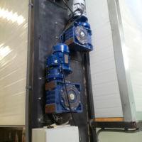 Secadero Bandas Agrotec - Permite ajustar la velocidad de las bandas así como los caudales de aire y temperatura